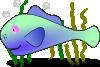 free vector Fish In The Sea clip art