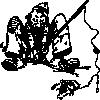 free vector Fishing clip art