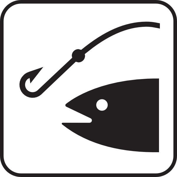 free vector Fishing clip art