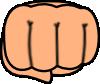 free vector Fist clip art