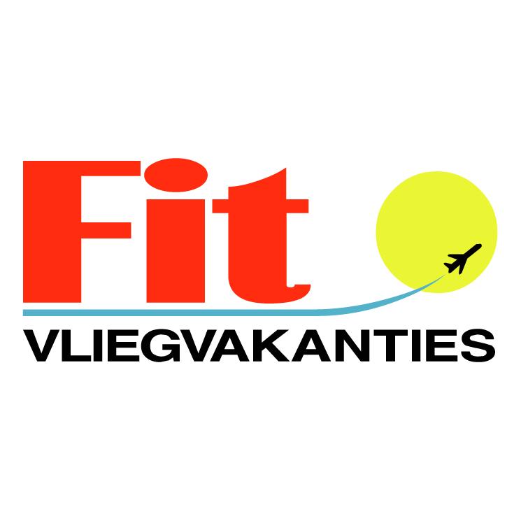 free vector Fit vliegvakanties
