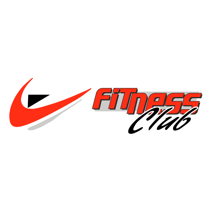 free vector Fitness club