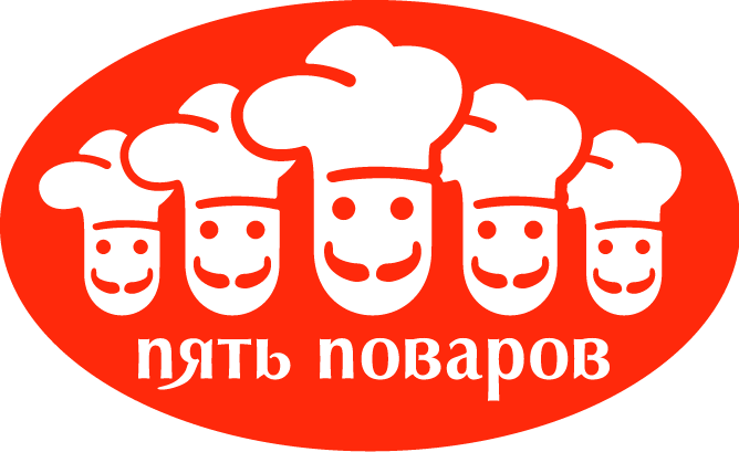 free vector Five cooks
