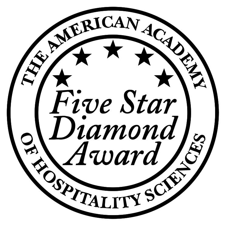 free vector Five star diamond award