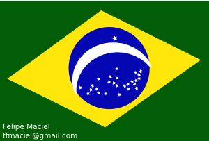 free vector Flag Brazil Crystal clip art