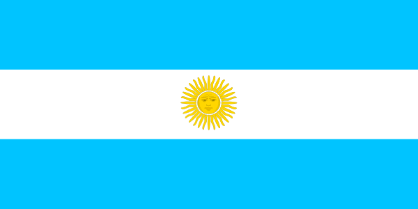 free vector Flag Of Argentina clip art