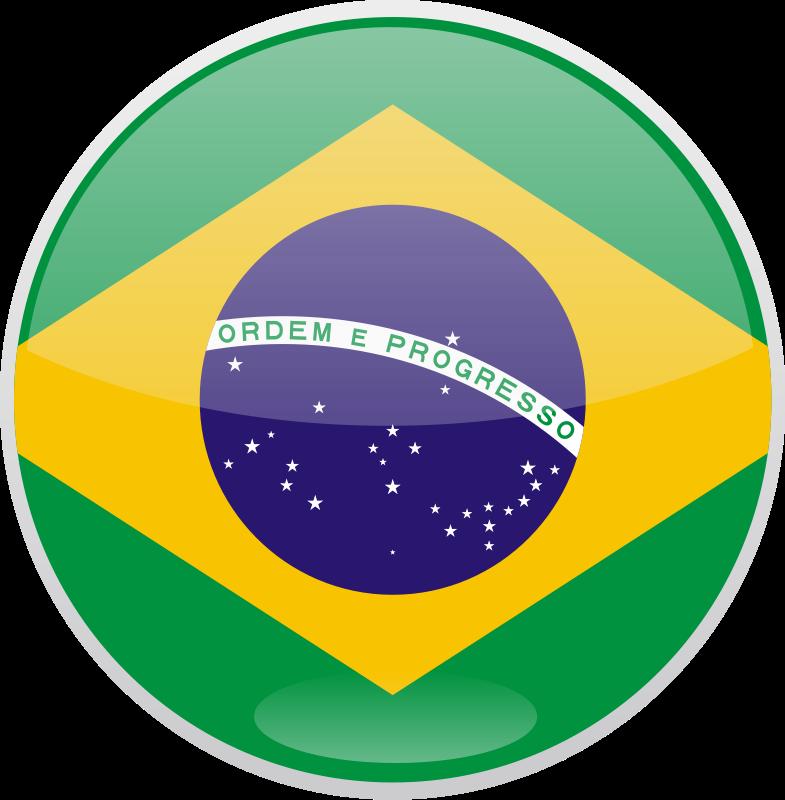 free vector Flag of Brazil