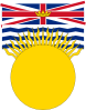 free vector Flag Of British Columbia Canada clip art