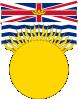 free vector Flag Of British Columbia Canada clip art