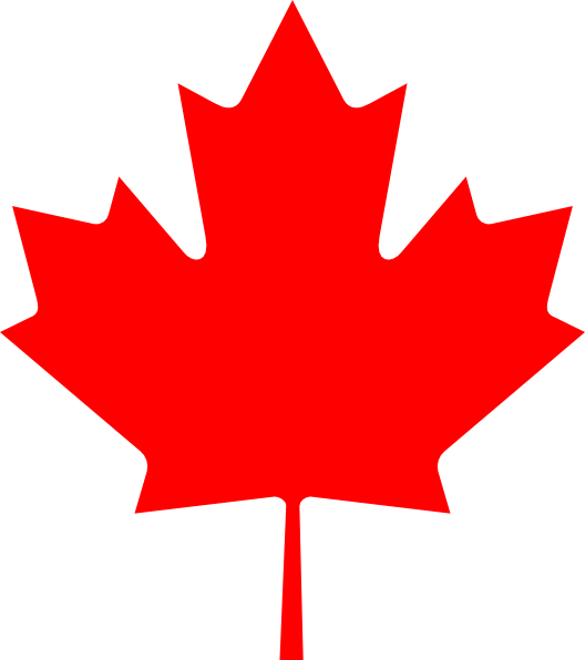 free vector Flag Of Canada Leaf clip art