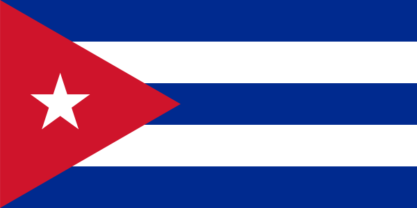 free vector Flag Of Cuba clip art
