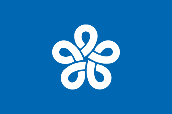 free vector Flag Of Fukuoka Prefecture clip art