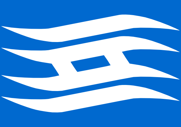 free vector Flag Of Hyogo Prefecture clip art