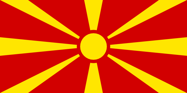 free vector Flag Of Macedonia clip art