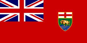 free vector Flag Of Manitoba Canada clip art