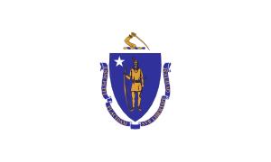 free vector Flag Of Massachusetts clip art
