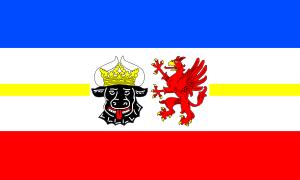 free vector Flag Of Mecklenburg West Pomerania clip art