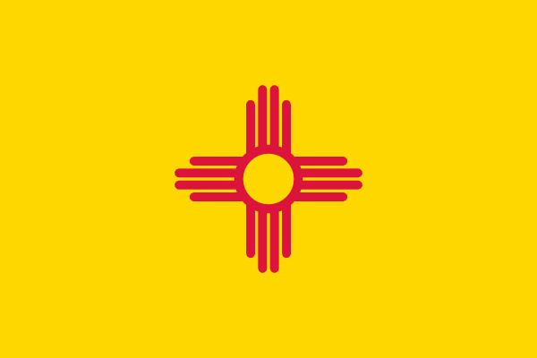 Free Vector Flag Of New Mexico Usa Clip Art