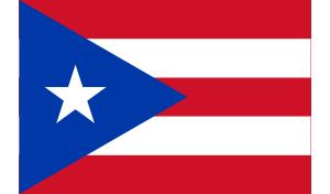 free vector Flag Of Puerto Rico clip art