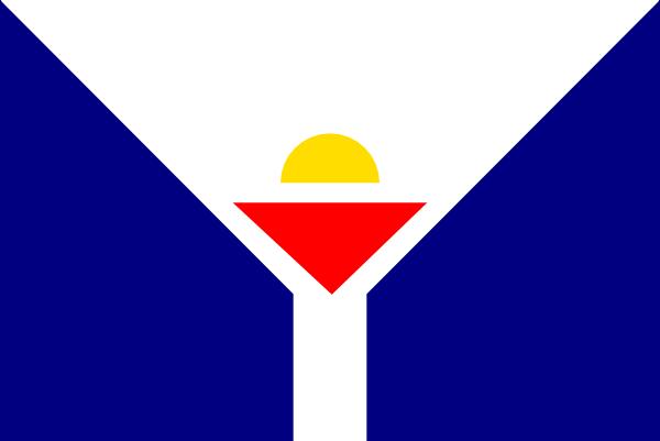 free vector Flag Of Saint Martin clip art