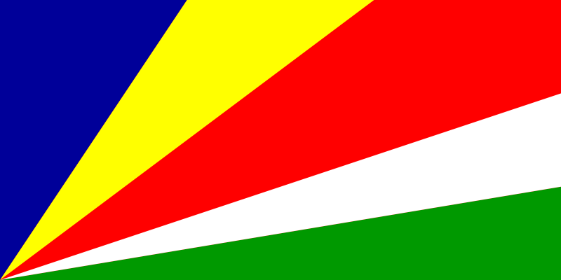 free vector Flag of Seychelles