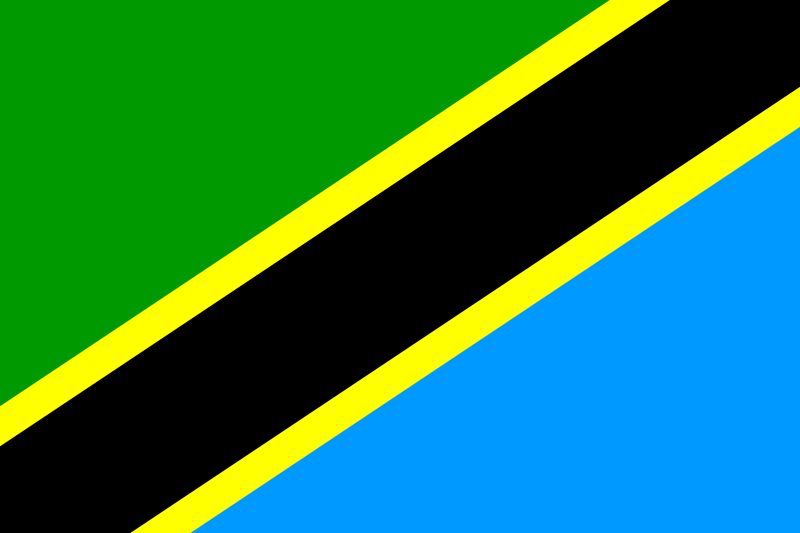 free vector Flag of Tanzania