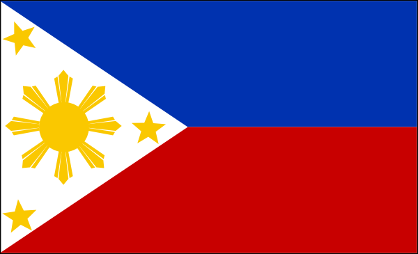 free vector Flag Of The Philippines clip art