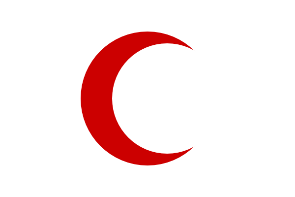 free vector Flag Of The Red Crescent clip art