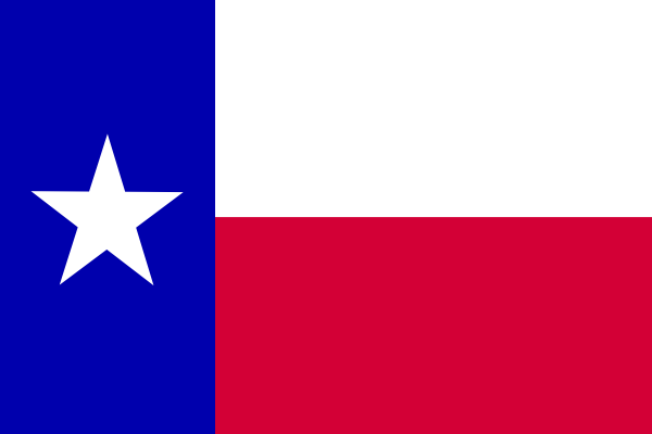 State of Texas Vector Logo Flag of The State of Texas