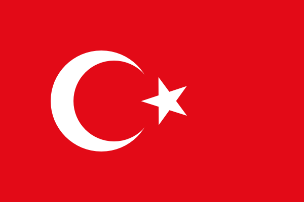 free vector Flag Of Turkey clip art