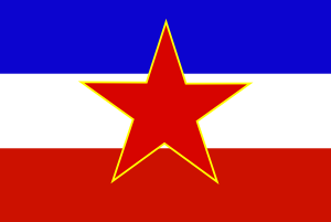 free vector Flag Of Yugoslavia Historic clip art