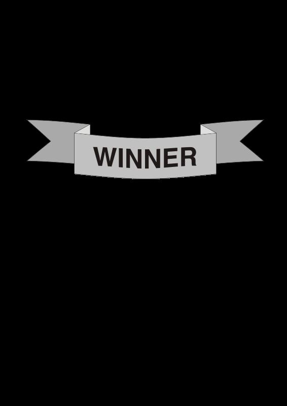 free vector Flag Winner