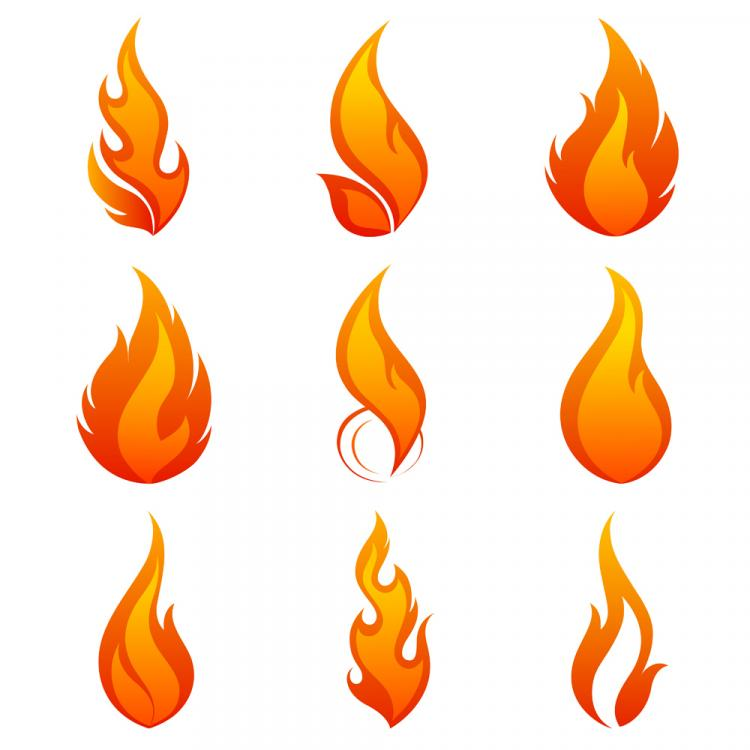 flame icon 01 vector free vector 4vector rh 4vector com flame vector analysis flame vector free download