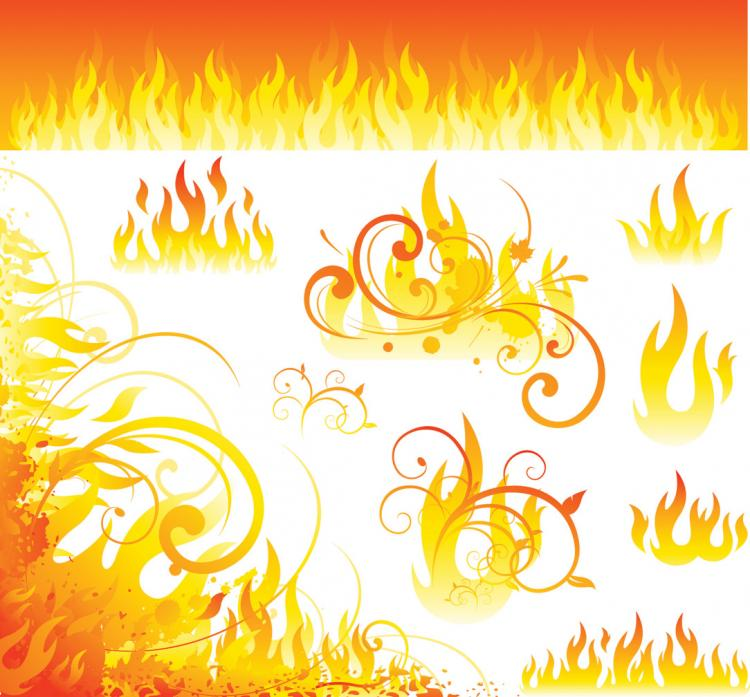 free vector Flame vector 3266