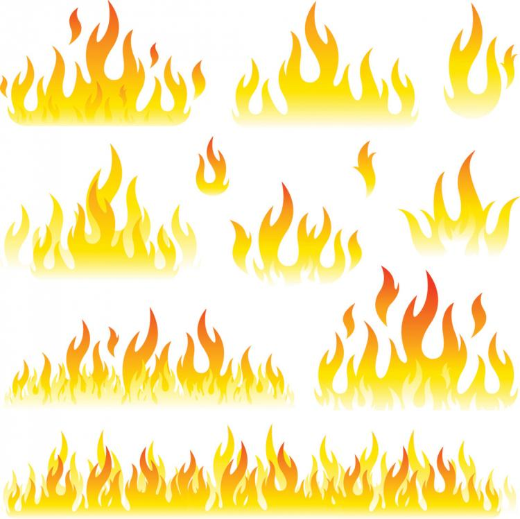 free vector Flame vector