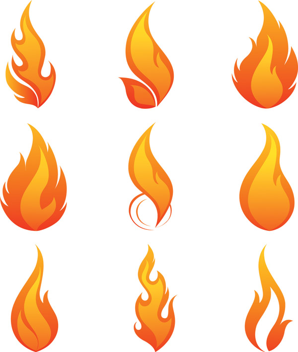 flame vector free vector 4vector rh 4vector com fire vector art fire vector free download