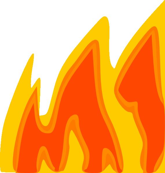 free vector Flames clip art