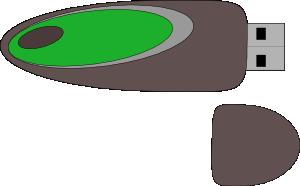 free vector Flash Disk clip art