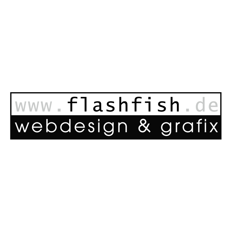 free vector Flashfish webdesign