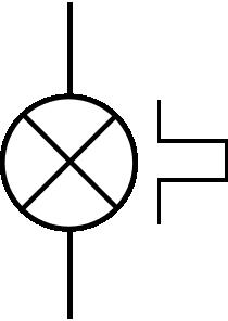 free vector Flashing Beacon clip art