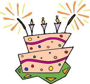 free vector Flat_cake clip art