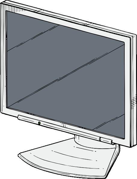 free vector Flat Panel clip art