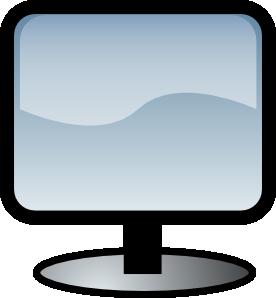 free vector Flat Screen clip art