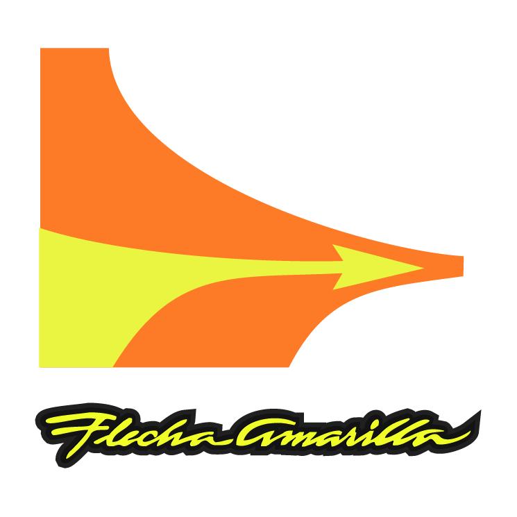 free vector Flecha amarilla