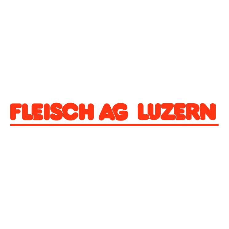 free vector Fleisch ag luzern