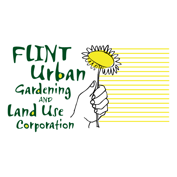 free vector Flint urban gardening and land use corporation