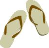 free vector Flip Flops clip art