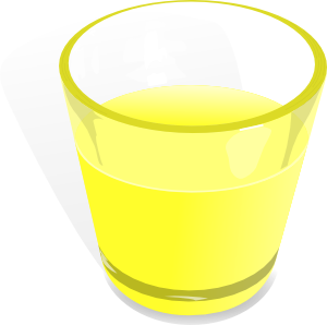 free vector Flomar Glass Cup clip art
