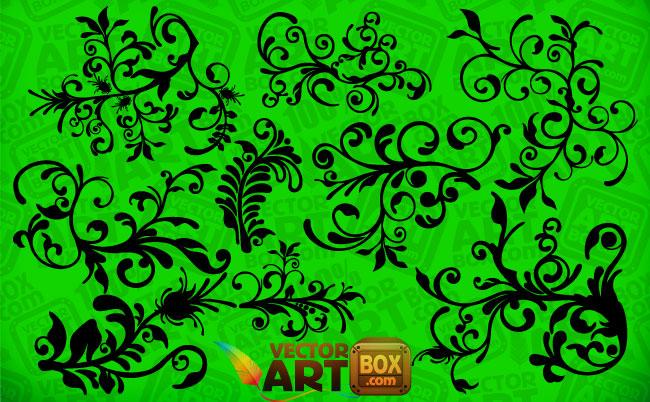 free vector Floral Clip Art