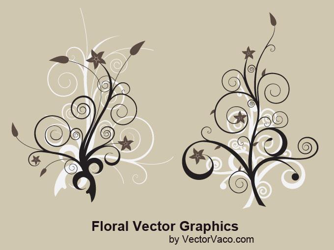 free vector Floral Vector Art